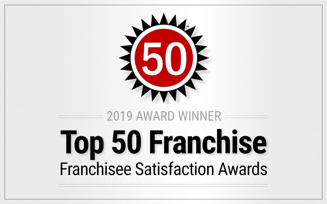Franchise Business Review Top 50 logo