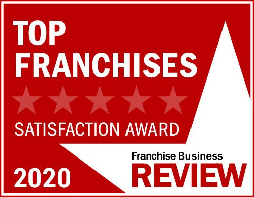 Franchise Business Review Satisfaction Award 2020.